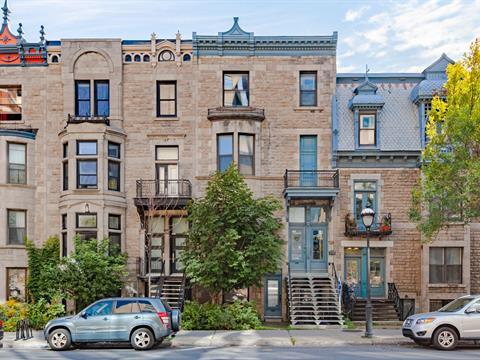 Quadruplex for sale in Ville-Marie (Montréal), Montréal (Island), 924 - 930, Rue  Sherbrooke Est, 27664129 - Centris.ca