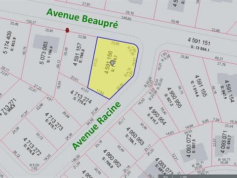 Lot for sale in Shawinigan, Mauricie, Avenue  Beaupré, 14468282 - Centris.ca