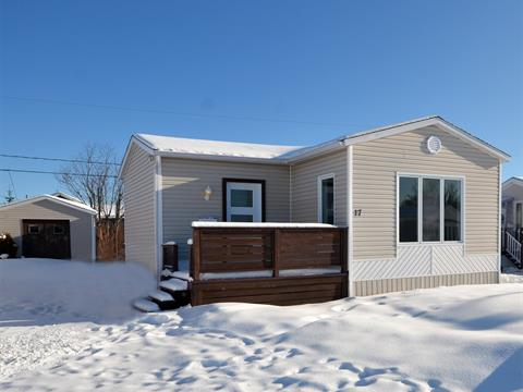 Mobile home for sale in Port-Cartier, Côte-Nord, 17, Rue  Leblanc, 26585245 - Centris.ca