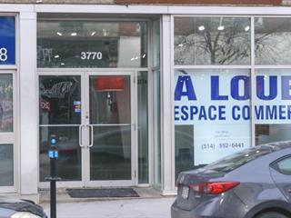 Local commercial à louer à Montréal (Le Plateau-Mont-Royal), Montréal (Île), 3770, boulevard  Saint-Laurent, 11562353 - Centris.ca