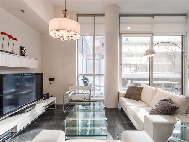 Condo / Apartment for rent in Montréal (Ville-Marie), Montréal (Island), 630, Rue  William, apt. 121, 16704505 - Centris.ca