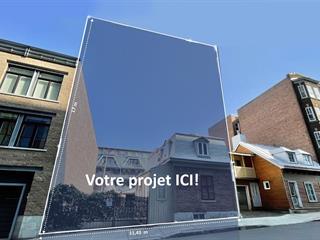 Lot for sale in Québec (La Cité-Limoilou), Capitale-Nationale, 1125Z, Rue de l'Amérique-Française, 14840087 - Centris.ca