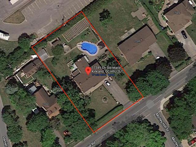 Lot for sale in Kirkland, Montréal (Island), 17349Z, Chemin  Sainte-Marie, 28784843 - Centris.ca