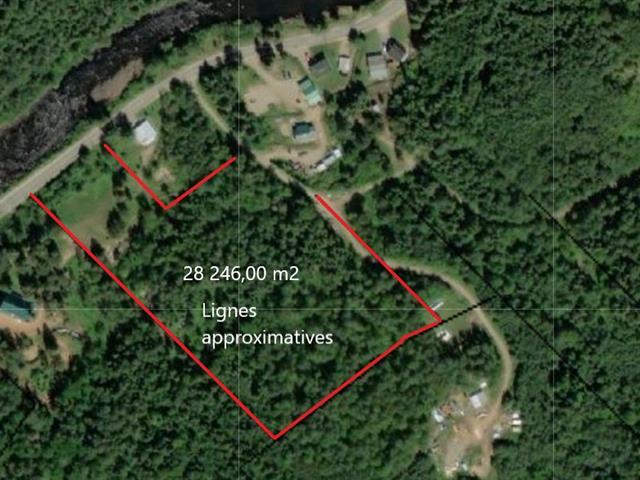 Terrain à vendre à La Bostonnais, Mauricie, 1626A, Rang du Sud-Est, 16712522 - Centris.ca
