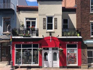 Bâtisse commerciale à vendre à Québec (La Cité-Limoilou), Capitale-Nationale, 242 - 244, Rue  Saint-Jean, 23354843 - Centris.ca