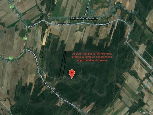 Lot for sale in Sainte-Marie-Salomé, Lanaudière, Chemin  Neuf, 26496624 - Centris.ca