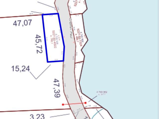 Terrain à vendre à Sainte-Thérèse-de-la-Gatineau, Outaouais, 25, Chemin  Paul, 26851648 - Centris.ca