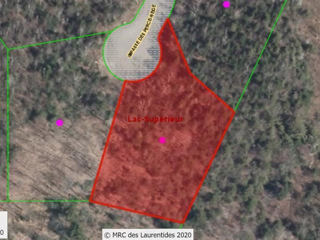 Terrain à vendre à Lac-Supérieur, Laurentides, Impasse des Perce-Neige, 27911287 - Centris.ca