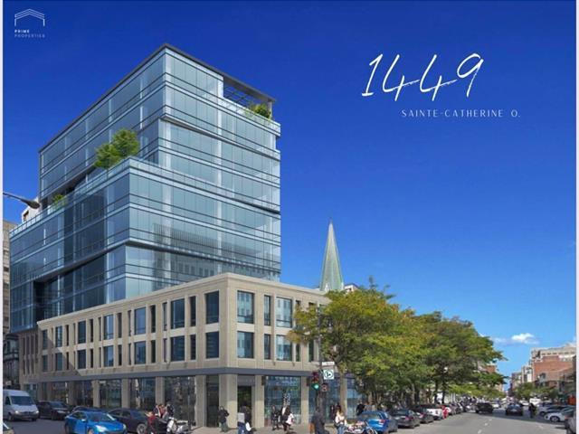 Commercial unit for rent in Montréal (Ville-Marie), Montréal (Island), 1449, Rue  Sainte-Catherine Ouest, suite 5, 18547357 - Centris.ca