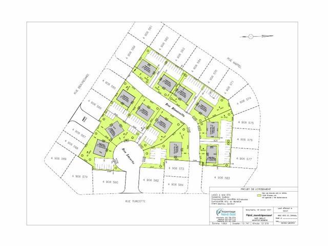 Terrain à vendre à Warwick, Centre-du-Québec, 70A, Rue de l'Hôtel-de-Ville, 21636492 - Centris.ca