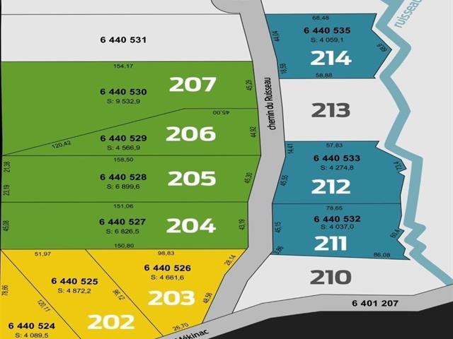 Terrain à vendre à Saint-Roch-de-Mékinac, Mauricie, Chemin du Ruisseau-Mékinac, 13417520 - Centris.ca