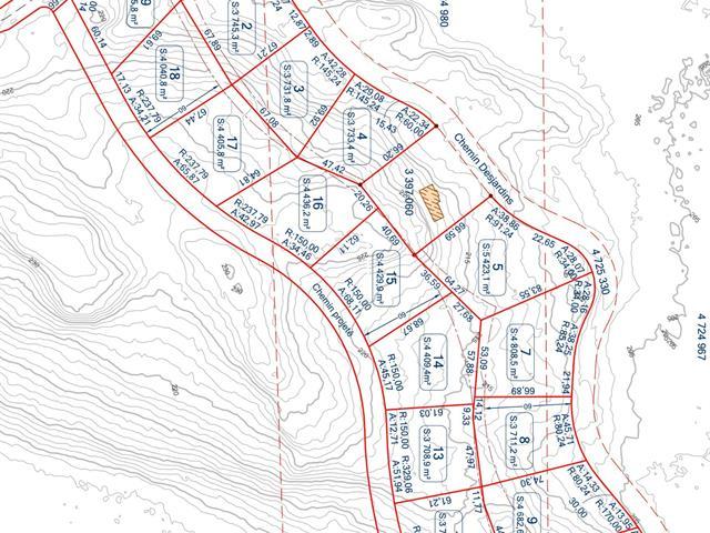 Terrain à vendre à Notre-Dame-du-Laus, Laurentides, Chemin  Desjardins, 25009156 - Centris.ca