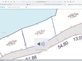 Lot for sale in Gracefield, Outaouais, 456, Chemin du Lac-Désormeaux, 9271671 - Centris.ca