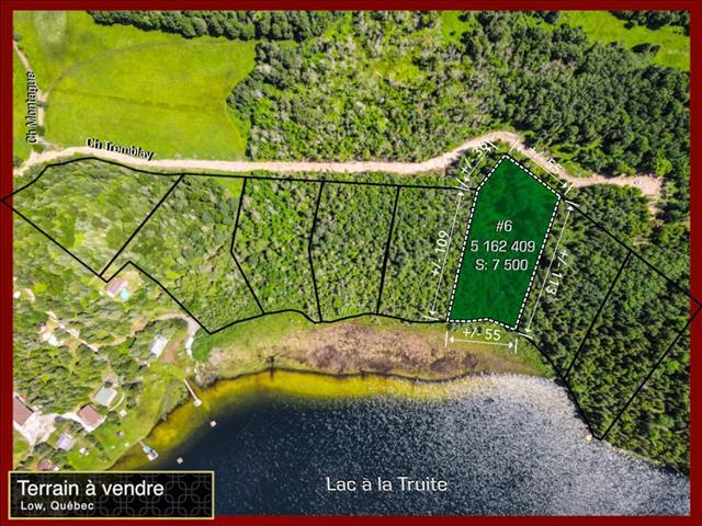 Lot for sale in Low, Outaouais, 109A, Chemin  Montague, 26451680 - Centris.ca