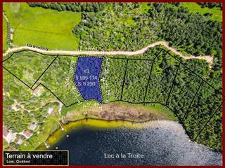 Terrain à vendre à Low, Outaouais, 109, Chemin  Montague, 23398607 - Centris.ca
