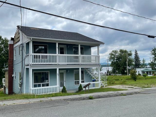 Duplex à vendre à Beaulac-Garthby, Chaudière-Appalaches, 27 - 31, Rue  Saint-François, 22001216 - Centris.ca
