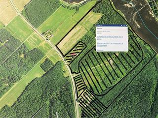 Terre à vendre à Lévis (Les Chutes-de-la-Chaudière-Ouest), Chaudière-Appalaches, Route  Saint-André, 20696619 - Centris.ca
