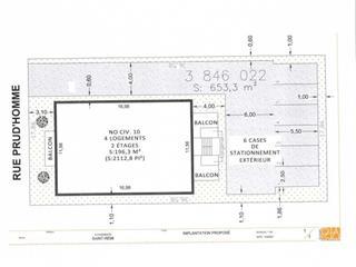 Terrain à vendre à Saint-Rémi, Montérégie, 10, Rue  Prud'Homme Est, 15575809 - Centris.ca