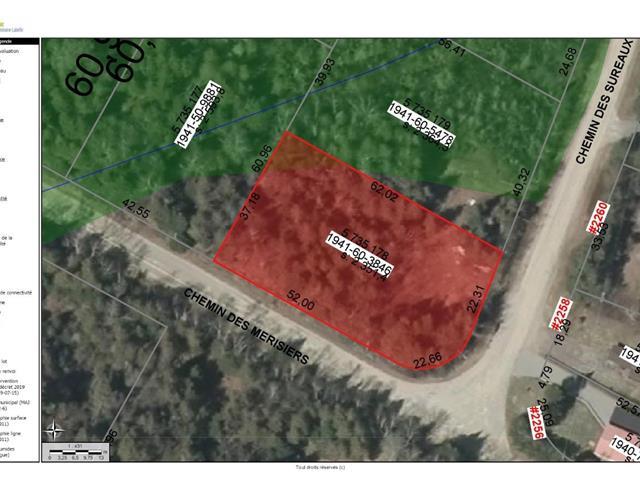 Terrain à vendre à Nominingue, Laurentides, Chemin des Sureaux, 24834929 - Centris.ca