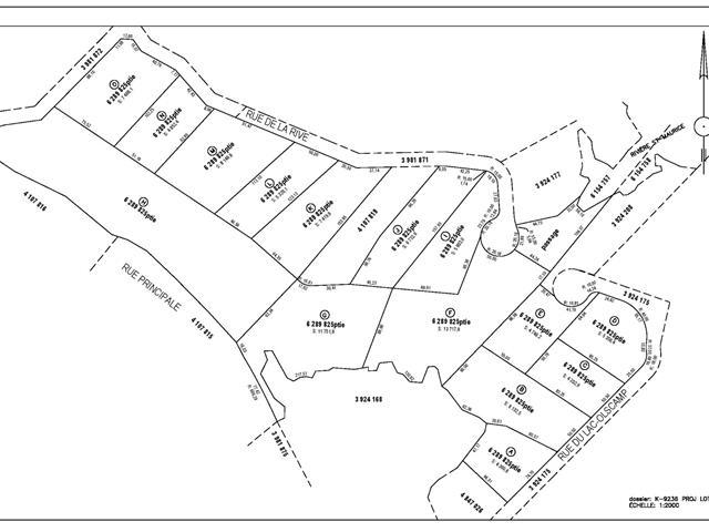 Terrain à vendre à Shawinigan, Mauricie, Rue de la Rive, 16745309 - Centris.ca