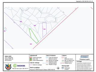 Terrain à vendre à Sainte-Adèle, Laurentides, Rue des Cimes, 14104273 - Centris.ca
