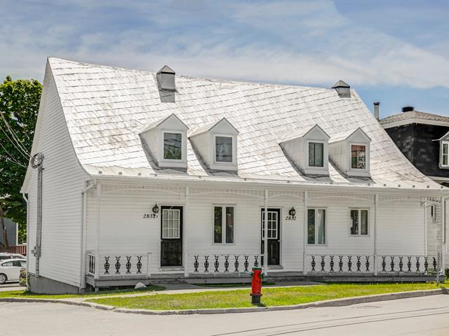 Quadruplex à vendre à Saint-Charles-de-Bellechasse, Chaudière-Appalaches, 2832, Avenue  Royale, 12085675 - Centris.ca