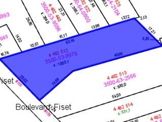 Lot for sale in Sorel-Tracy, Montérégie, 175, boulevard  Fiset, 18582585 - Centris.ca