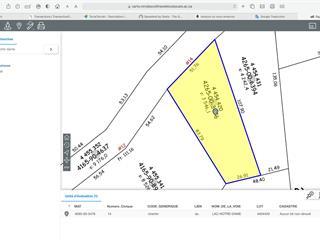 Lot for sale in La Pêche, Outaouais, 14, Chemin du Lac-Notre-Dame, 23484274 - Centris.ca