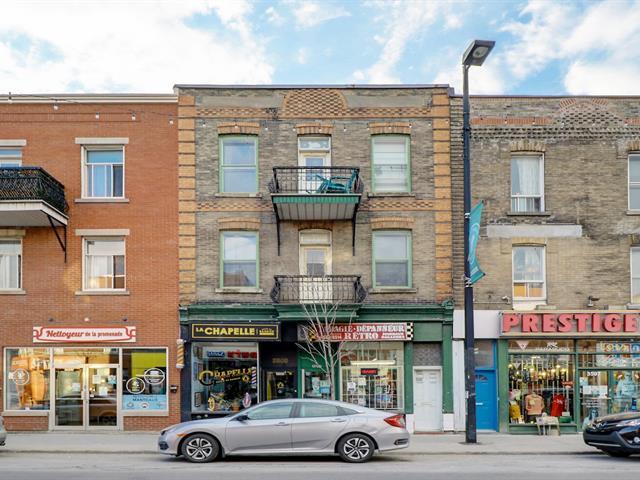 Quadruplex for sale in Montréal (Mercier/Hochelaga-Maisonneuve), Montréal (Island), 3585 - 3591, Rue  Ontario Est, 15196469 - Centris.ca