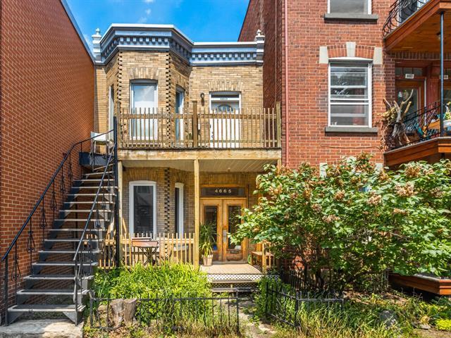 Duplex for sale in Montréal (Le Plateau-Mont-Royal), Montréal (Island), 4665 - 4665A, Rue  Berri, 19652530 - Centris.ca