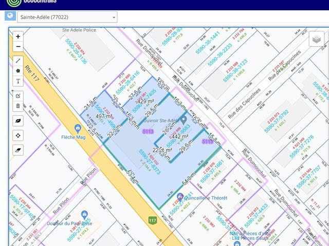 Lot for sale in Sainte-Adèle, Laurentides, 1365, boulevard de Sainte-Adèle, 17523641 - Centris.ca