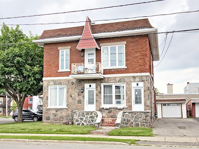 Duplex for sale in Trois-Rivières, Mauricie, 2544 - 2546, Rue  Saint-Olivier, 12813731 - Centris.ca