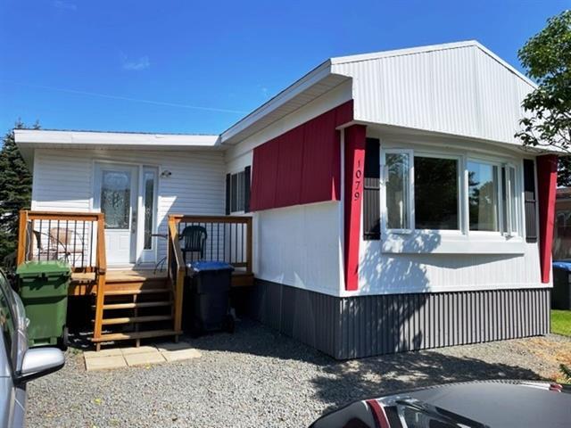 Maison mobile à vendre à Lévis (Les Chutes-de-la-Chaudière-Est), Chaudière-Appalaches, 1079, Rue  Alainbourg, 25576815 - Centris.ca