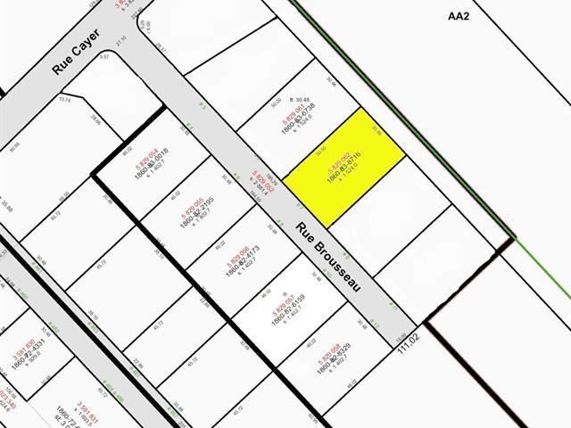 Terrain à vendre à Notre-Dame-du-Sacré-Coeur-d'Issoudun, Chaudière-Appalaches, 7, Rue  Brousseau, 27795219 - Centris.ca