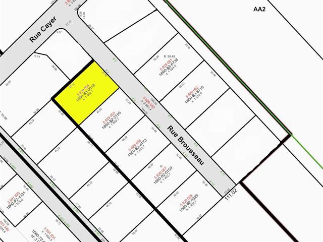 Terrain à vendre à Notre-Dame-du-Sacré-Coeur-d'Issoudun, Chaudière-Appalaches, 4, Rue  Brousseau, 17773825 - Centris.ca