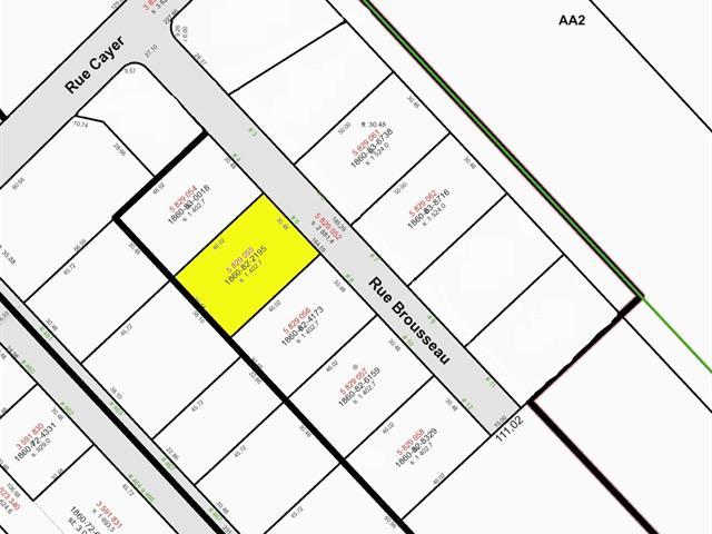 Lot for sale in Notre-Dame-du-Sacré-Coeur-d'Issoudun, Chaudière-Appalaches, 6, Rue  Brousseau, 9121362 - Centris.ca