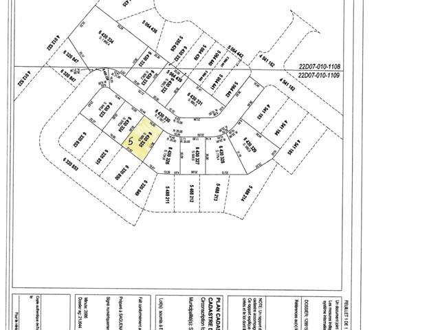 Lot for sale in Saguenay (La Baie), Saguenay/Lac-Saint-Jean, 6430325, Rue des Parulines, 27664178 - Centris.ca