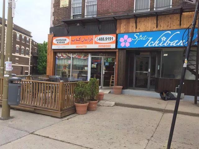 Bâtisse commerciale à louer à Montréal (Côte-des-Neiges/Notre-Dame-de-Grâce), Montréal (Île), 5702, Rue  Sherbrooke Ouest, 23465926 - Centris.ca