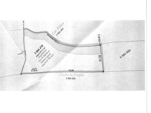 Terrain à vendre à Chute-Saint-Philippe, Laurentides, Chemin du Progrès, 28896265 - Centris.ca
