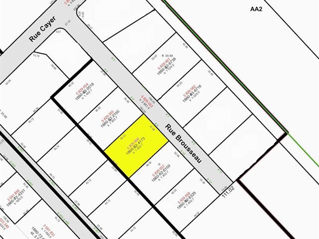 Lot for sale in Notre-Dame-du-Sacré-Coeur-d'Issoudun, Chaudière-Appalaches, 8, Rue  Brousseau, 17363788 - Centris.ca