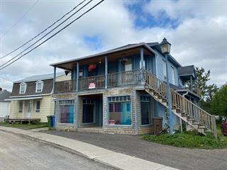 Duplex à vendre à Lac-au-Saumon, Bas-Saint-Laurent, 19 - 21, Rue de l'Église, 19372969 - Centris.ca