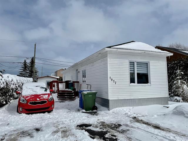 Mobile home for sale in Mont-Joli, Bas-Saint-Laurent, 1077, Rue  Lussier, 10860533 - Centris.ca