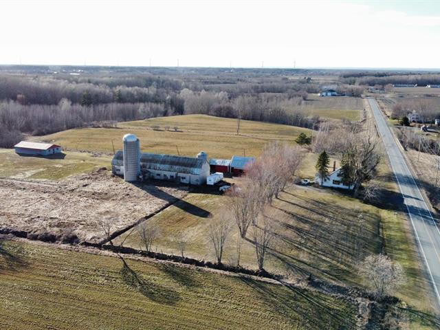 Fermette à vendre à Saint-David, Montérégie, 130, Rang de la Rivière-David, 28428371 - Centris.ca