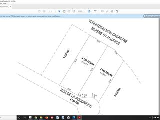 Lot for sale in Shawinigan, Mauricie, Rue de la Poudrière, 19066030 - Centris.ca