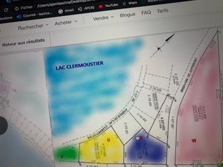 Terrain à vendre à Chertsey, Lanaudière, Lac  Clermoustier, 15510653 - Centris.ca
