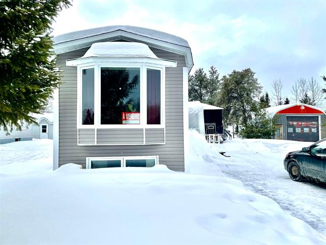Mobile home for sale in Taschereau, Abitibi-Témiscamingue, 831, Avenue  Brunelle, 13376621 - Centris.ca
