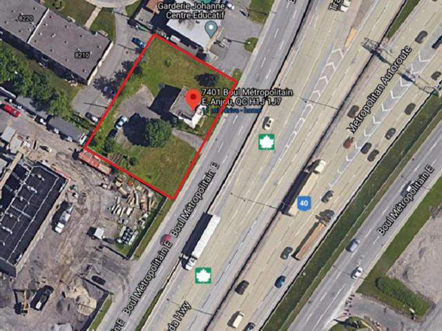 Terrain à vendre à Montréal (Anjou), Montréal (Île), 7401, boulevard  Métropolitain Est, 9408009 - Centris.ca