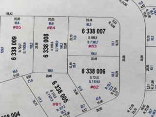 Terrain à vendre à Saguenay (Jonquière), Saguenay/Lac-Saint-Jean, Rue des Sénateurs, 15728518 - Centris.ca