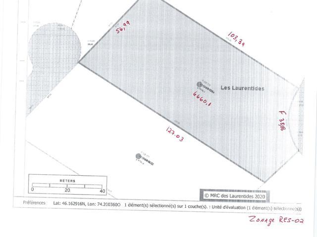 Lot for sale in Sainte-Lucie-des-Laurentides, Laurentides, Chemin  Champagne, 24099704 - Centris.ca