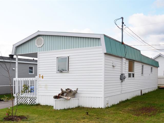 Mobile home for sale in Port-Cartier, Côte-Nord, 14, Rue  Parisé, 23934330 - Centris.ca